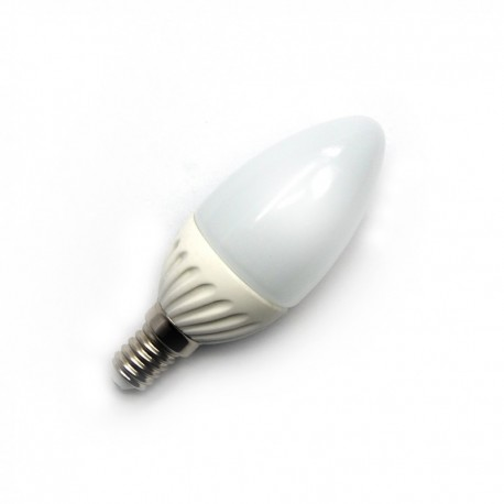BLUETECH® E14 7 SMD LED KERZENLAMPE 350lm 4,5W warmweiß - A++