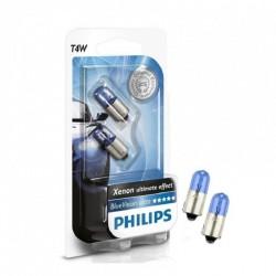 Philips Fahrzeugscheinwerferlampe T4W 12V BlueVision 2er Set