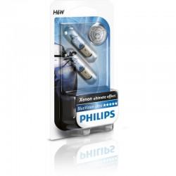 Philips Fahrzeugscheinwerferlampe W6W 12V BlueVision 2er Set