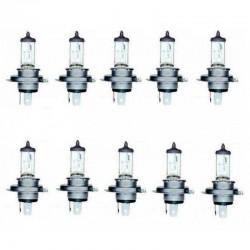 H4 Autolampen BLUETECH® 60/55 Watt 12V 10er Set