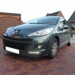 BLUETECH® LEDflex Tagfahrlicht mit Dimmfunktion für Peugeot 207