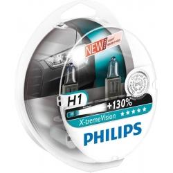 H1 Philips X-tremeVision +130% Scheinwerferlampe 2er Set